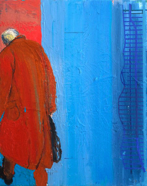 City of Glass 15 Stillman walks1 50x40cms1 Copy